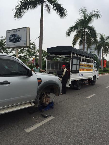 Nhu cầu thay lốp ô tô lưu động