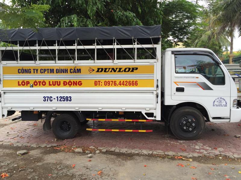 dịch vụ thay vá lốp ô tô lưu động