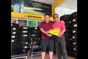 Vi vu SH, du lịch Hàn Quốc - HongKong khi mua lốp xe Dunlop.