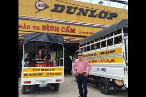 Dịch vụ thay lốp ô tô lưu động tại Đình Cẩm