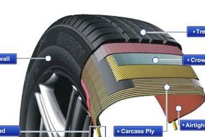 Tìm hiểu về cấu tạo của chiếc lốp ô tô