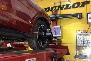 Căn chỉnh thước lái và góc đặt bánh xe
